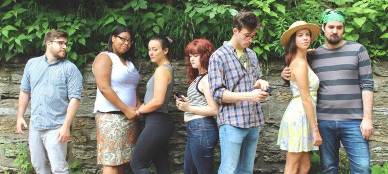 The cast of Rejection by Theatre Corrobora.